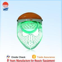 2015 vente chaude conduit lumière thérapie beauté équipement masque rouge conduit lumière