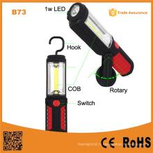 B73 Luminaire de lumière lumineuse à LED magnétique nouveau COB Muitifunction