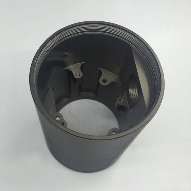 hard coat anodized aluminum