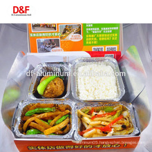 8011 3003 aluminum foil food container for household