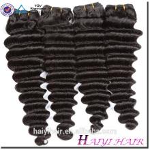 Cabelo não processado cru superior do Virgin do cabelo humano superior do Virgin da categoria 10A 100 no cabelo cru do Virgin de China