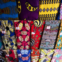 Cotton Super Wax Fabrics 40X40 96X96 To Africa Market