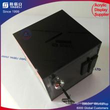 Promotional Top Quality Plexiglass Donation Box with Lock