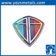 adesivos promocionais do logotipo do carro de metal