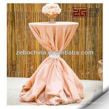 Оптовые высокой бар ткани коктейль скатерть для свадеб