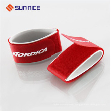Cutomized Color Ski Strap Fastening Tape with Hook and Loop