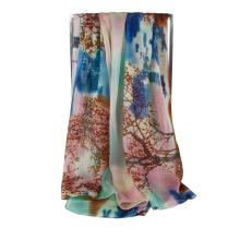 Nouvelle écharpe mode émeraude Lady Chiffon Echarpe