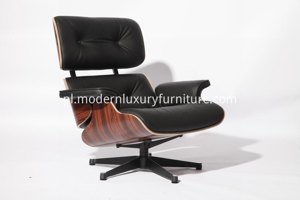 palisander wood lounge chair