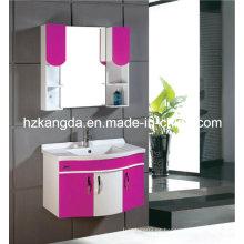 Gabinete de baño de PVC / vanidad del cuarto de baño del PVC (KD-303A)