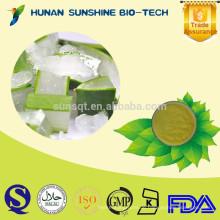 Niedriger Preis des Großverkaufs Bestes Aloe Vera-Saft-Auszug-Pulver für das Haut-Weiß werden
