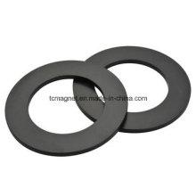 Imanes de anillo con epoxi negro y recubrimiento de Ni