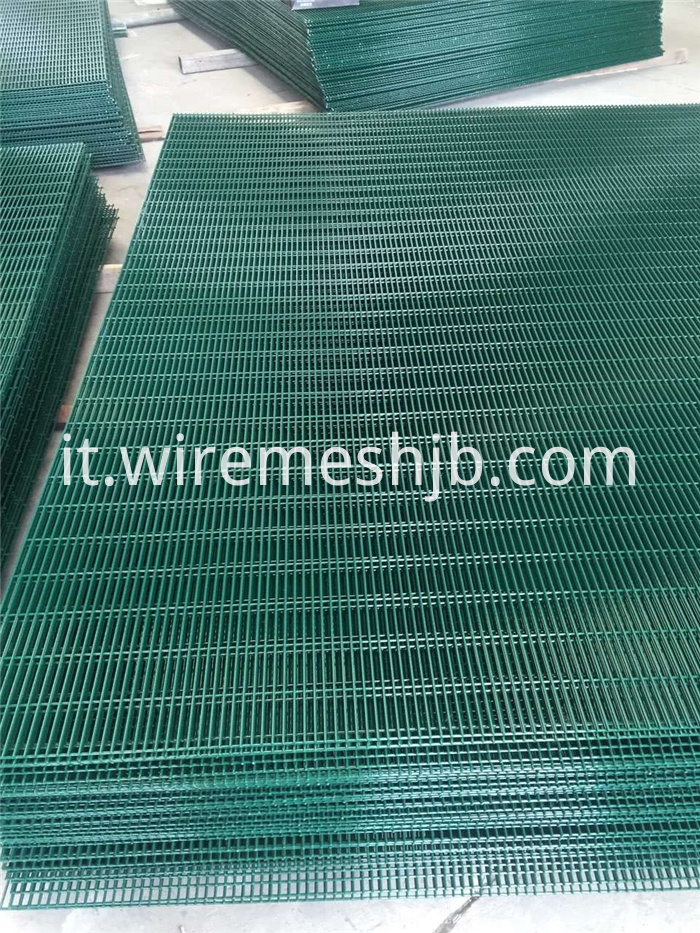 Welded Mesh Panel Fencing