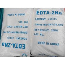 Sal disódica del ácido tetraacético de la etileno diamina de la categoría alimenticia EDTA-2na