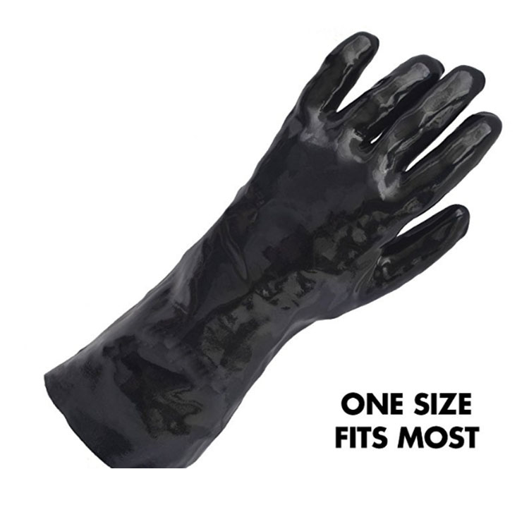 Fashion Black Cleaning Gloves