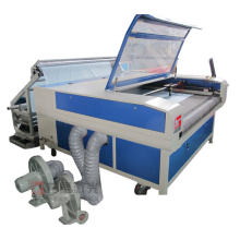 Dongguan Glc-1610TF Auto Feed Rooling Fabric Laser Engraver