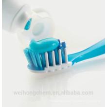 High-End-CMC-Carboxylmethylcellulose in Zahnpasta aufgetragen