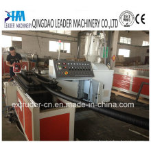 PP/PE/PVC Single Wall Corrugated Pipe Extruder Machine