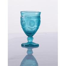Colorful Unique Crystal Stylish Blue Wine Glasses