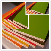 Tablero de madera contrachapada con melamina / Panel de contrachapado de fibra de vidrio / Diferentes tipos de contrachapado