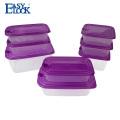 Easylock Travel biscuits plastic crisper for food