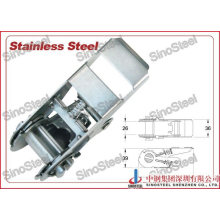 """1""""-25mm Stainless Steel Ratchet Strap Buckle"""