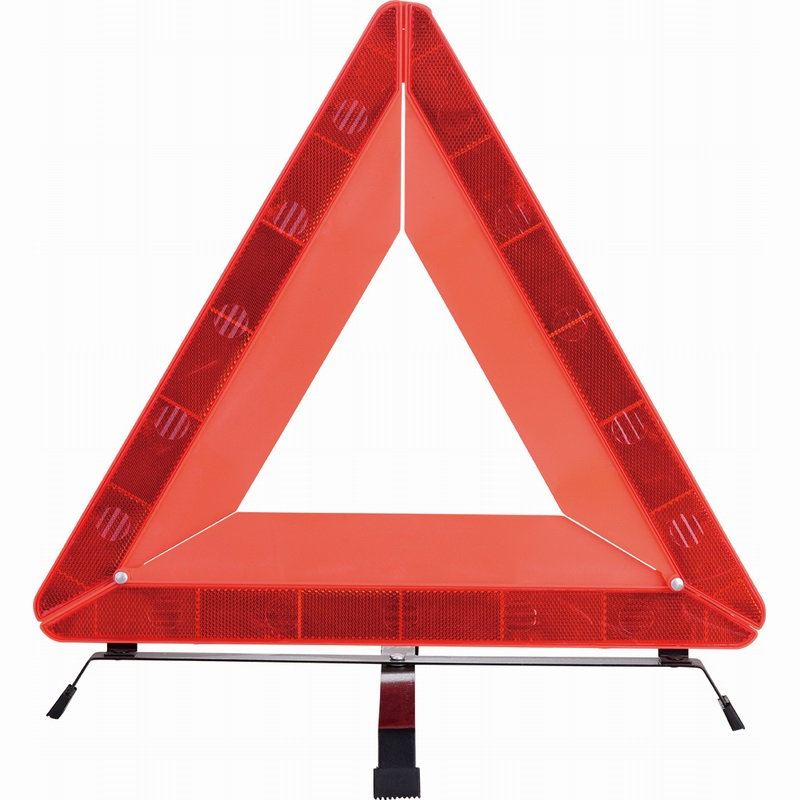 car emergency warning triangle