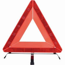 reflective car emergency warning triangle