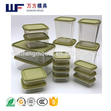 full container of goods mould made in China/OEM Custom plastic injection full container of goods mold