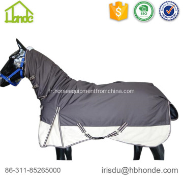 600d Waterpoof Combo Tapis d'hiver pour chevaux