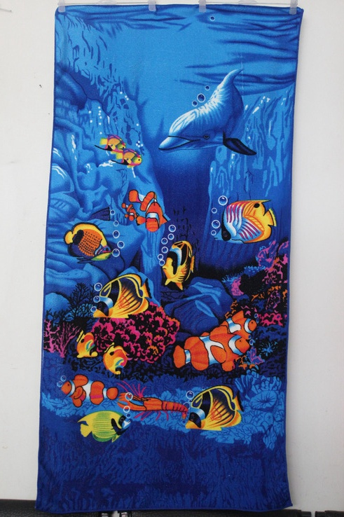 Dolphin Printed Beach Towels