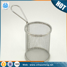 Gold supplier 304 316 stainless steel wire mesh basket for medical sterilizing equipment