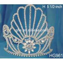 customized crowns tiaras princess dress up set girl's wholesale crown
