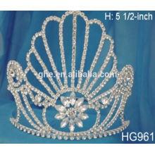 Персонализированные короны тиары принцесса одеваются набор девушки оптовой короны