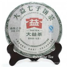 "2011 Dayi Menghai Tea Factory ""Menghai Zhi Chun"" (Printemps Menghai) Raw Pu Er Cake Puer Cake 357g / Gâteau"