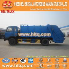 DONGFENG 4x2 12 M3 Hecklader Müllwagen mit Pressmechanismus Dieselmotor 190 PS