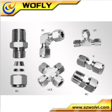 laboratory gas valves pipe compression fittings