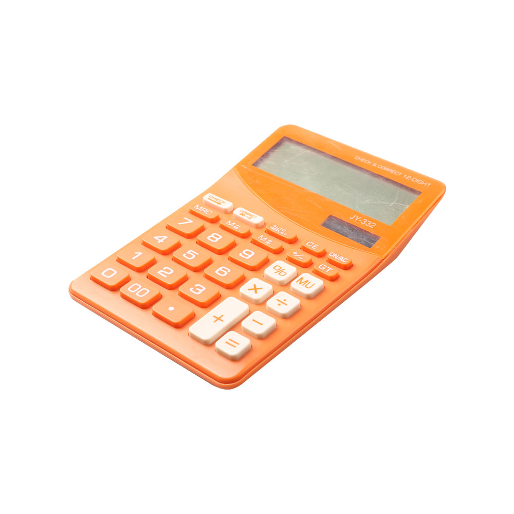 Dual Power Business Desk Calculator with Check Function