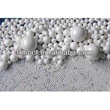 Glazed ceramic ball