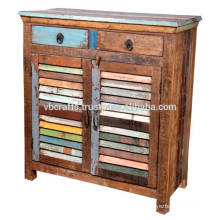 shutter panel recycle wood cabinet