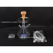 New Cheap Portable Acrylic Hookah Shisha with LED