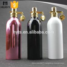100ml fancy colorful Uv Coating Cosmetic aluminium spray bottle 100ml