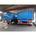 Coloumn Cargo trailer loading 50t