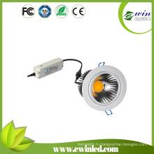 4000к-4500к Лампа 15W downlights с CE и утверждение RoHS и pse