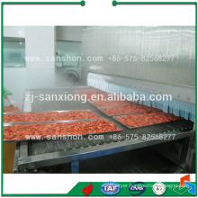 tunnel type blast freezer machine