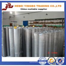 Filtro de alta qualidade, tecido de malha de arame de aço inoxidável usado