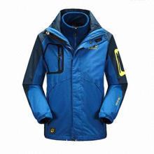 2013 Hiking Men's Outdoor Sport Two-piece Coat, Waterproof, Windproof, Anti-bacterial/-static