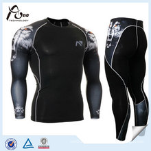 Custom Sublimation Recovery Compression Rash Guard