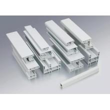 Profils de PVC de porte coulissante de 80mm