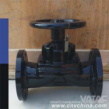 Vatac Lined or Unlined Weir/Kb/a/Straight Through Type Diaphragm Valve
