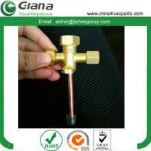 Female brass check valve 3 way for refrigerant R134a